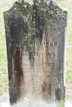 Mary Alice <I>White</I> Milliken