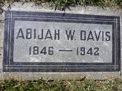 Abijah W. Davis