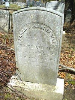 Sarah A <I>Vanderbilt</I> Powell
