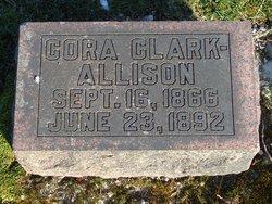 Cora <I>Clark</I> Allison