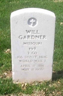 """William Jarvis """"Will"""" Gardner"""