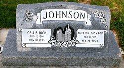 Callis Rich Johnson