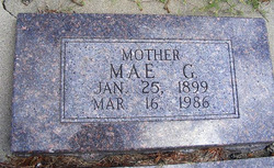 Mae Grace <I>Baker</I> Litchenberg