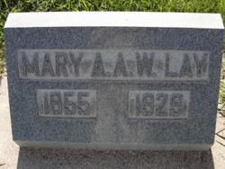 Mary Ann Almira <I>Wilson</I> Lay