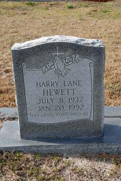 Harry Lane Hewett