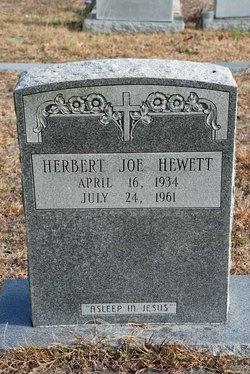 Herbert Joe Hewett