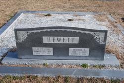 Sarah Effie <I>Hewett</I> Hewett