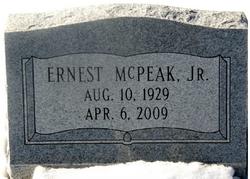 Sgt Ernest McPeak, Jr