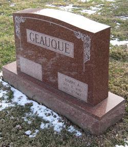 Harry A Geauque