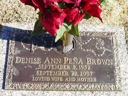 Denise Ann <I>Pena</I> Brown