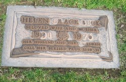 Helen Grace <I>Curtis</I> Buck