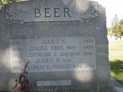 """Gertrude Louise """"Trudy"""" Beer"""