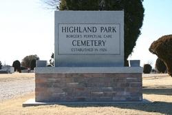Highland Park Cemetery