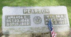 "Pvt Mahlon B ""Bird"" Pearson"