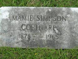 Mamie <I>Simpson</I> Coltharp