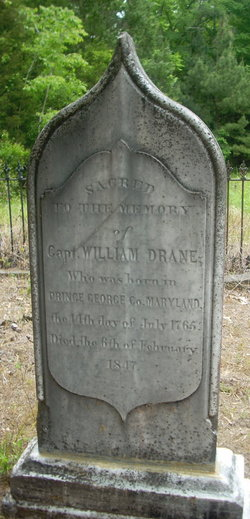Capt William Piles Drane, Sr