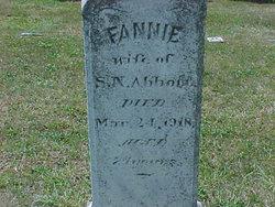 "Frances Elizabeth ""Fannie"" <I>Grove</I> Abbott"