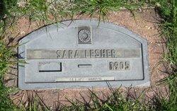 Sarah Ann <I>Gayman</I> Lesher