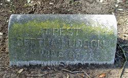 Bertha E <I>Hudson</I> Ainsworth