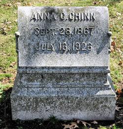 Anna C <I>Cloak</I> Chinn