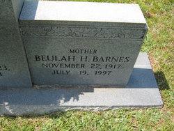 Beulah <I>Hill</I> Barnes