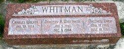 Dorothy Alice <I>Whitt</I> Whitman