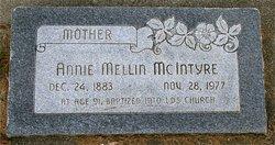 Annie Mellin Mcintyre