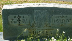 Edna E. <I>Ballew</I> Hooker