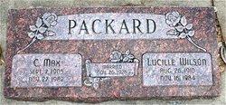 Lucille <I>Wilson</I> Packard