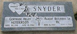 Gertrude Helen Snyder