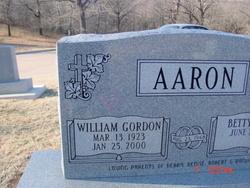 William Gordon Aaron