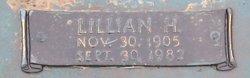 "Lillian Edith ""Lil"" <I>Hood</I> Hopkins"