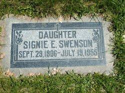 Signie E Swenson