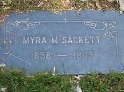 Myra Marie <I>Tucker</I> Sackett