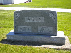 "Henrietta ""Netta"" <I>King</I> Akin"