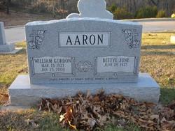 Bettye June <I>Hopkins</I> Aaron