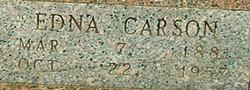 Edna Caroline <I>Carson</I> Williams