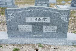 """Katherine """"Katie"""" <I>Hewett</I> Clemmons"""
