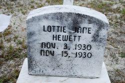 Lottie Jane Hewett