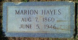 Marion Aaron Hayes