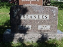 Alma <I>Schultz</I> Brandes