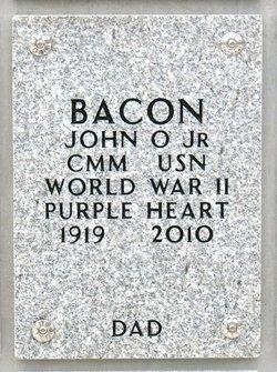 CPO John Oscar Bacon, Jr