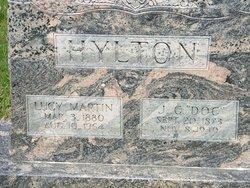 Lucy May <I>Martin</I> Hylton