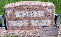 M. Marie <I>Baxter</I> Adams