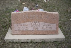 Esther <I>Powell</I> Anderson