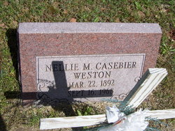 Nellie M. <I>Casebier</I> Weston
