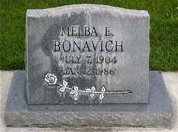 Melva <I>Everett</I> Bonavich