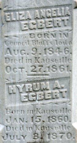 Hyrum Alexander Egbert