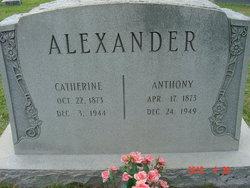 Catherine <I>Nichols</I> Alexander