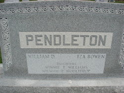 William Dexter Pendleton